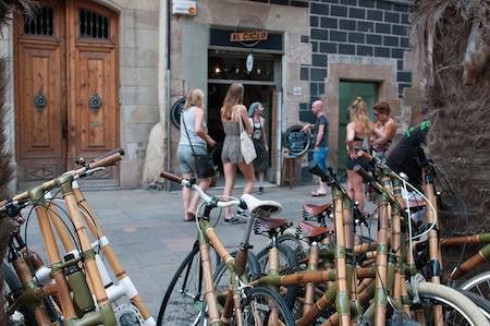 fietstour Barcelona bamboefietsen